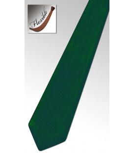 Cravate en bois teinté vert