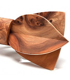 Bow Ties in Wood - The Asymmetric