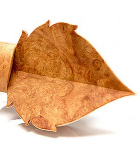 Noeuds papillon en bois - La Feuille