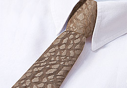 Necktie in wood - Louro-Faïa