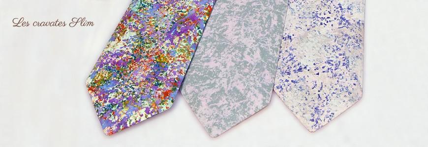 Cravates en bois - Les teintées - MELISSAMBRE