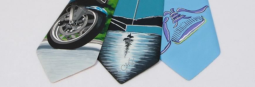 Cravates en bois - Les Dessins