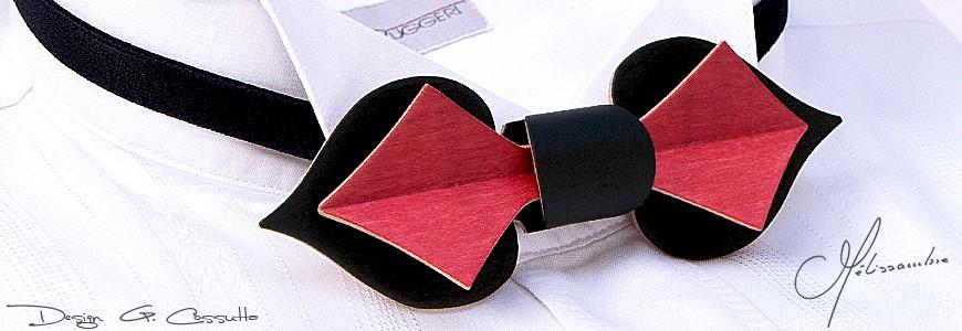 Nœud papillon en bois - La Carte - MELISSAMBRE