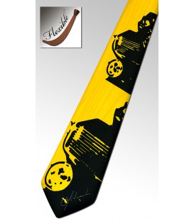 Yellow Bentley tie