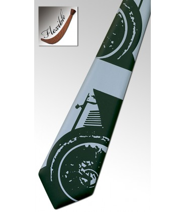 Wooden grey necktie, Rolls-Royce - MELISSAMBRE
