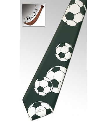 Cravate en bois, Football - MELISSAMBRE