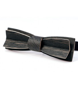 Bow tie in wood, Stretto in Marsh Oak