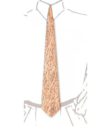 Cravate en bois, Bouleau madré de Finlande - MELISSAMBRE