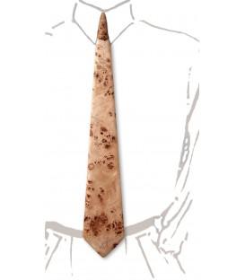 Cravate en bois, loupe de Peuplier - MELISSAMBRE