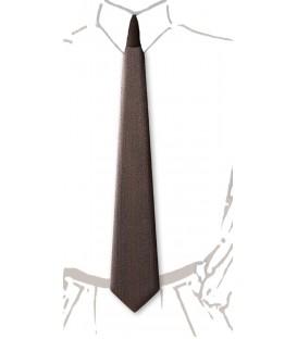 Wooden tie, smoked Chestnut - MELISSAMBRE