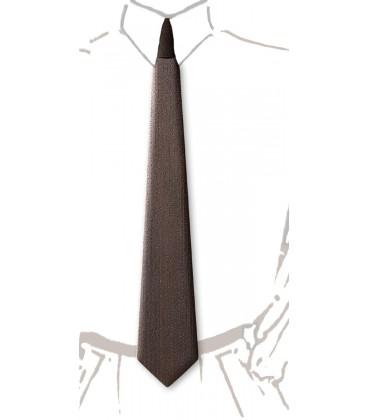 Cravate en bois, Châtaignier fumé - MELISSAMBRE