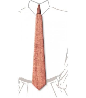 Cravate en bois, Bubinga ondé - MELISSAMBRE