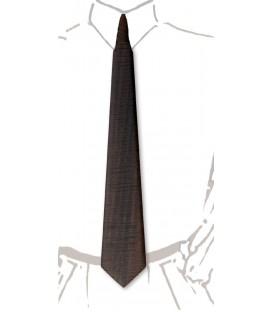 Cravate en bois, Eucalyptus ondé fumé - MELISSAMBRE