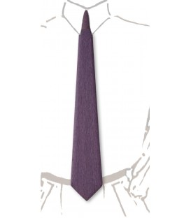 Wooden tie, lilac tinted Koto - MELISSAMBRE