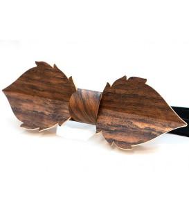 Nœud papillon bois, Feuille en Amazakoué