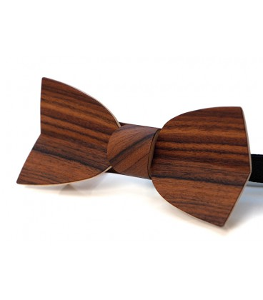 Bow tie in wood, Mellissimo in Rosewood - MELISSAMBRE