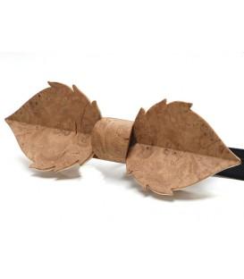 Noeud papillon bois, Feuille en loupe de Chêne