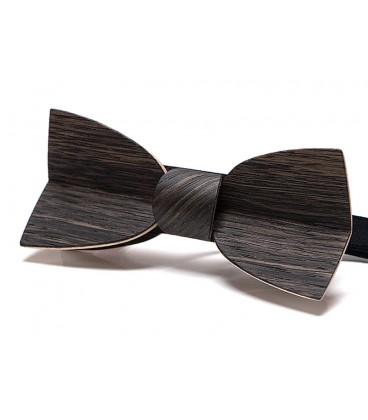 Bow tie in wood, Mellissimo in Marsh Oak - MELISSAMBRE