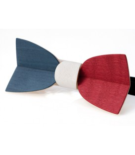 Wooden bow tie, Mellissimo French - MELISSAMBRE