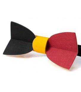 Wooden bow tie, Mellissimo Belgium