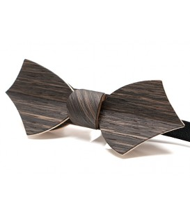 Bow tie in wood, Eole in Marsh Oak - MELISSAMBRE®