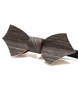 Bow tie in wood, Eole in Marsh Oak - MELISSAMBRE®