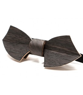 Bow tie in wood, Drakkar in Marsh Oak - MELISSAMBRE®