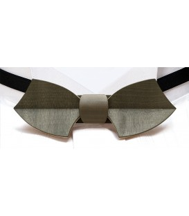 Bow tie in wood, Drakkar in khaki tinted Maple - MELISSAMBRE®