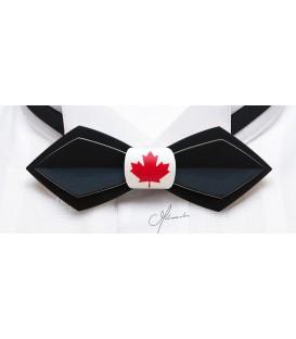 Bow ties in wood, Nib Canada - MELISSAMBRE