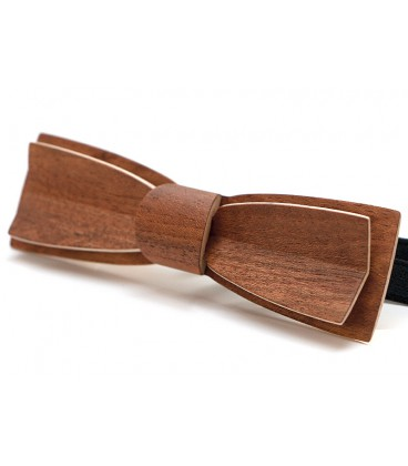 Stretto in Etimoe, bow tie in wood - MELISSAMBRE