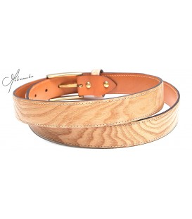 Belt in wood, Ash tree - MELISSAMBRE