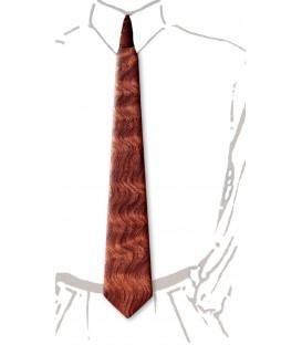 Wooden tie, dappled Bubinga - MELISSAMBRE