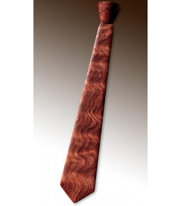 Cravate en bois, Bubinga pommelé - MELISSAMBRE