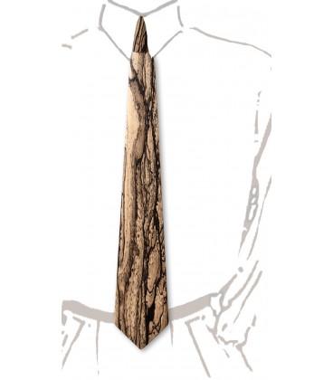 Cravate en bois, Ebène blanc du Laos - MELISSAMBRE