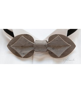 Bow Tie in Wood, Card in Tinted Maple