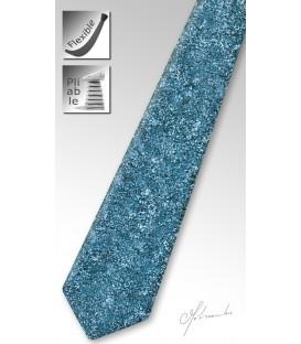 Coral tinted wood tie