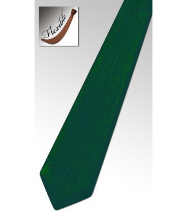 Tie in Wood Evergreen Tinted