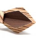 Noeuds papillon en bois - La Plume