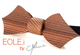 Bow Tie in Wood MELISSAMBRE®