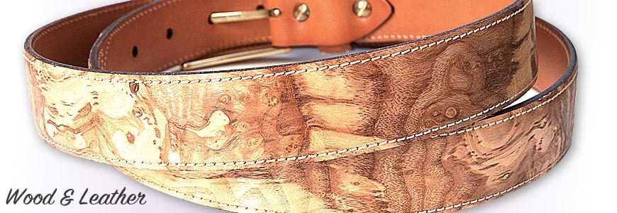 Belt in Wood - 2 - MELISSAMBRE