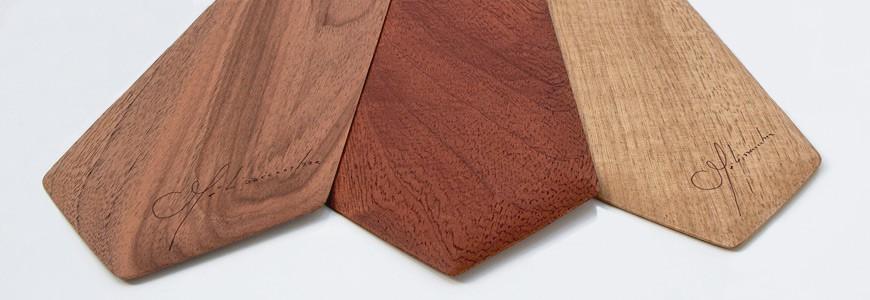 Cravates en bois - Les essences nobles - MELISSAMBRE