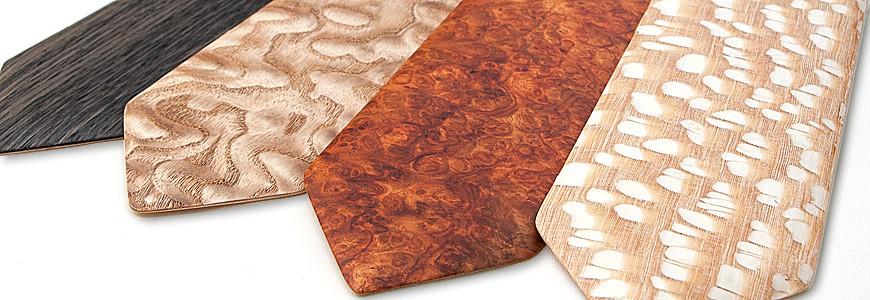 Cravates en bois 1 - MELISSAMBRE