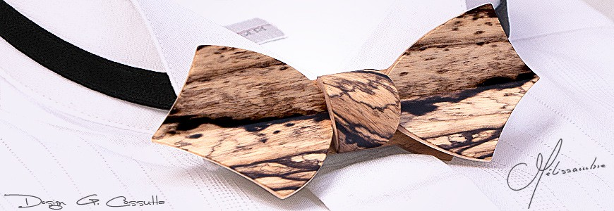 Nœuds papillon en bois - EOLE - MELISSAMBRE
