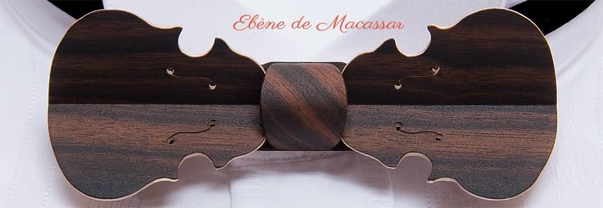 Nœud papillon en bois - Le Violon - MELISSAMBRE