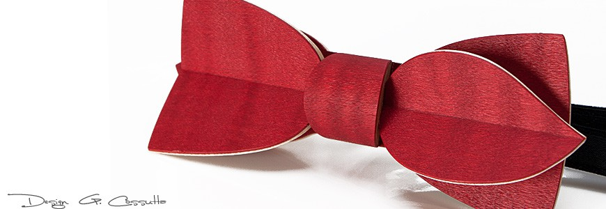 Bow Ties in Wood - the colors - MELISSAMBRE