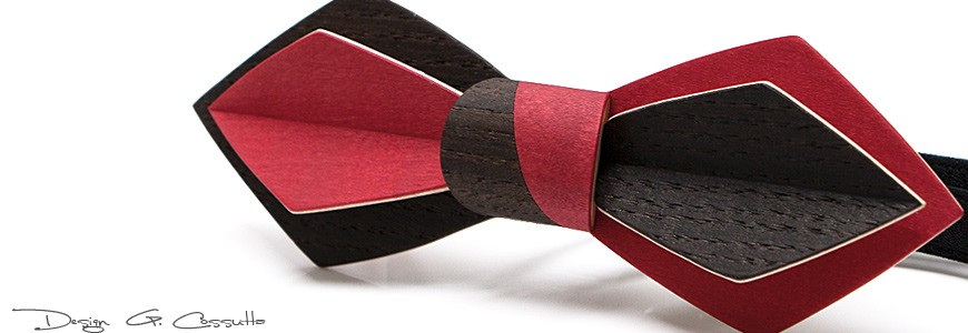 Bow Tie in Wood - The Nib - MELISSAMBRE