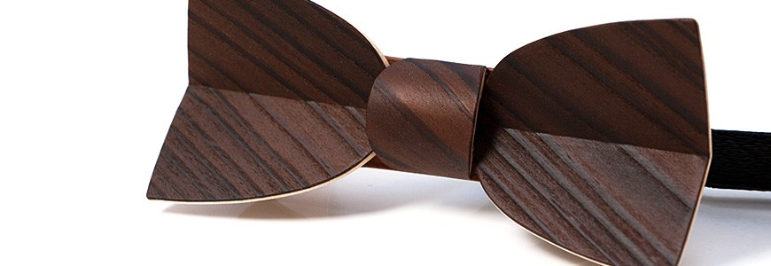 Bow ties in wood 2- MELISSAMBRE